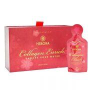 Nước uống hebora collagen enrich damask rose water 28 gói mẫu mới 2021