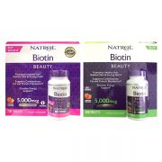 Viên ngậm hương dâu Natrol Biotin Beauty 5000mcg 250 viên củ...