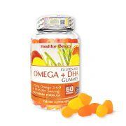 Viên nhai Omega + DHA Gummies cho bé Healthy Beauty 60v