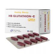Viên uống trắng da thải độc HB Glutathion - C Plus của Mỹ