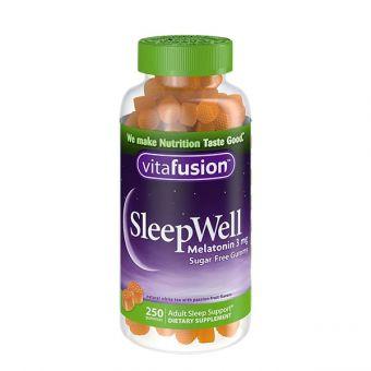 Kẹo dẻo giúp ngủ ngon Sleepwell Vitafusion 250 viên Mỹ