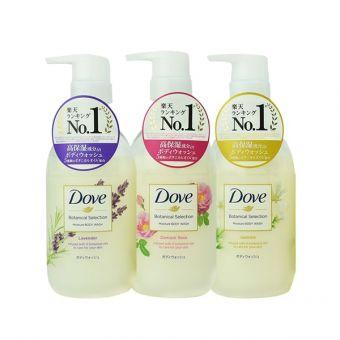 Sữa tắm Dove Botanical Selection 500g của Nhật Bản