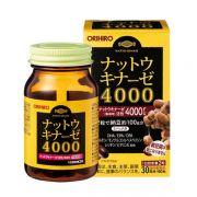Viên uống phòng chống đột quỵ Nattokinase 4000FU Orihiro