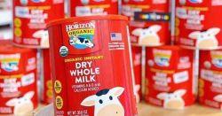 Cách pha sữa Horizon Organic đúng chuẩn cho bé yêu