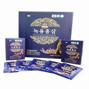 Nước hồng sâm nhung hươu hộp xanh Gaesung 30 gói x 50ml