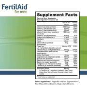 Viên uống FertilAid For Men 90 viên - Tăng chất lượng tinh trùng