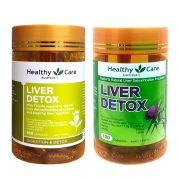 Viên uống Liver Detox Healthy Care 100 viên giải độc gan