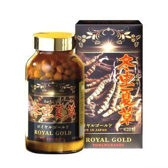 Viên uống đông trùng hạ thảo Tohchukasou Royal Gold của Nhật Bản
