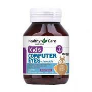 Kẹo bổ mắt cho bé Healthy Care Kids Computer Eyes Úc 60 viên