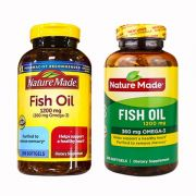 Dầu Cá Nature Made Fish Oil Omega 3 1200mg 200 viên của Mỹ