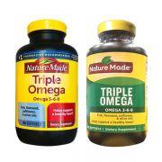 Triple Omega 3 6 9 Của Mỹ Nature Made - Hộp 180 Viên