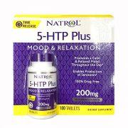 Viên uống giảm căng thẳng Natrol 5-HTP Plus 200mg 100 viên