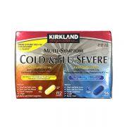 Viên uống trị cảm Kirkland Multi - Symptom Cold & Flu Severe