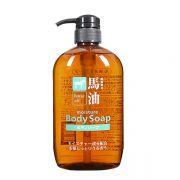 Sữa tắm mỡ ngựa Kumano Horse Oil Moisture Body Soap 600ml