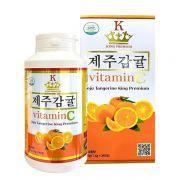 Viên ngậm Vitamin C Jeju Tangerine King Premium Hàn Quốc