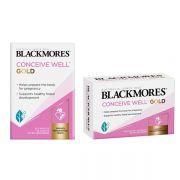 Viên uống Blackmores Conceive Well Gold 56 viên của Úc