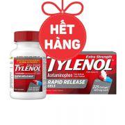 Viên uống giảm đau hạ sốt Tylenol Rapid Release Gels 500mg
