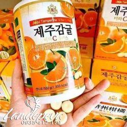 Viên ngậm Vitamin C Hàn Quốc Jeju Review có tốt không?