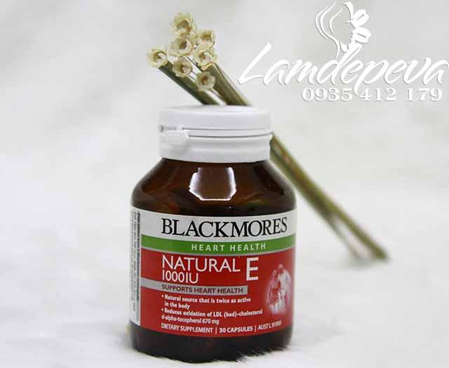 blackmores heart health natural e 1000iu 30 viên của Úc