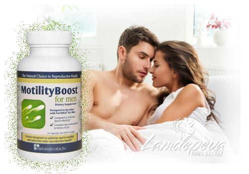 Thuốc tăng cường sinh lý nam giới MotilityBoost for Men 60 viên