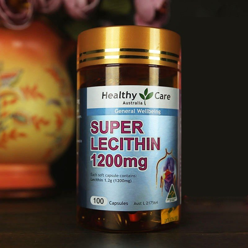 super lecithin 1200mg