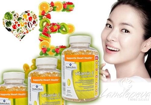 Viên uống bổ sung Vitamin E 400 IU Supports Heart Health 500 viên của Mỹ